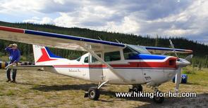 bush plane and pilot