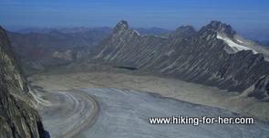 glaciers of Ragged Range