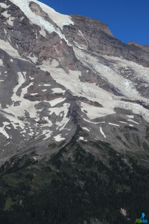 Wilson Divide on Mount Rainier