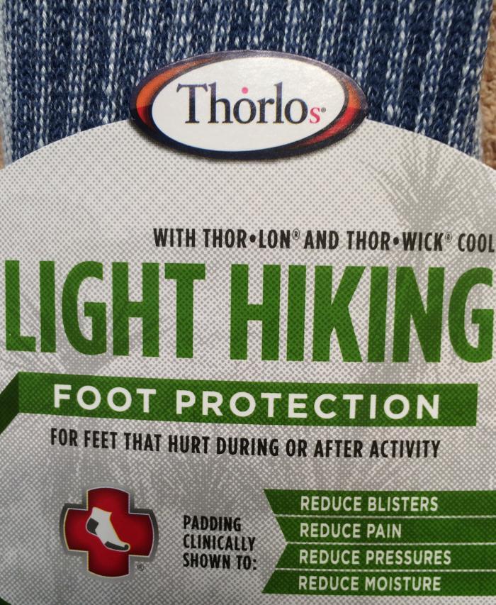 Thorlo hiking socks package