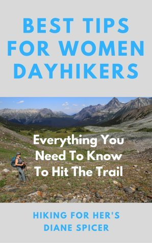 Need some hiking tips for your outdoor adventures? Here they are, from Hiking For Her! #hike #hiking #dayhike #hikingbeginner #newbiehiker #womenhikers #outdoorwomen