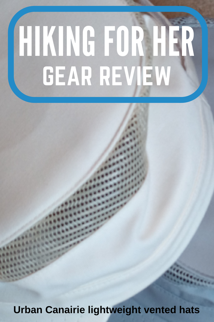 Hiking For Her reviews a lightweight, vented hiking hat that might be perfect for your next hike!