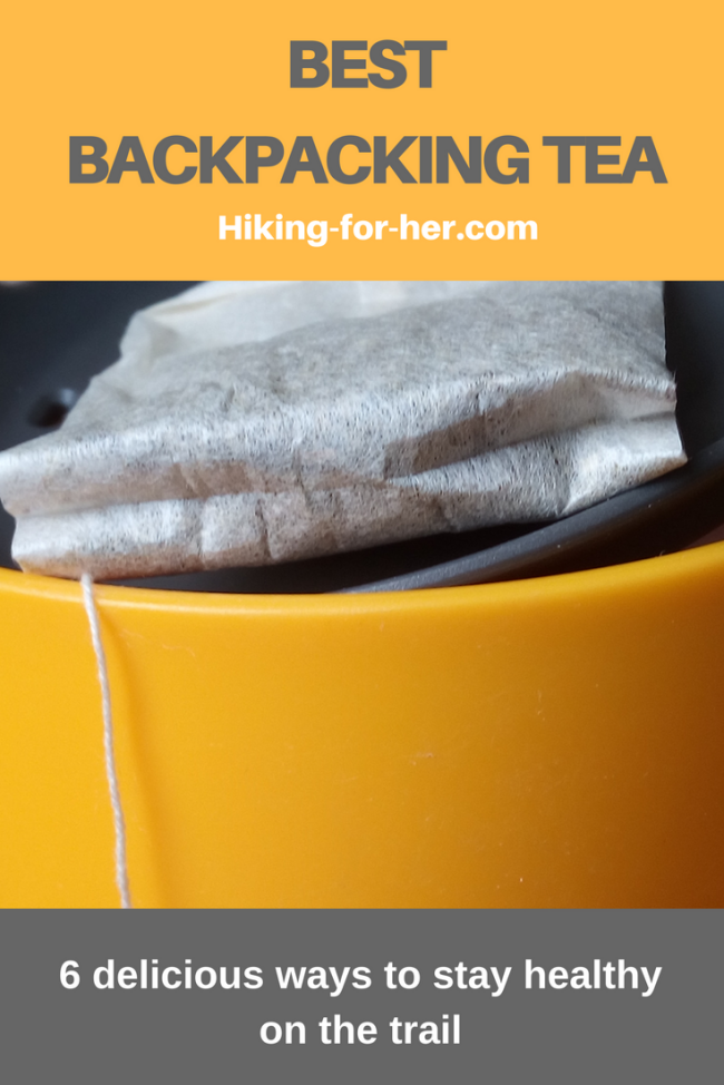 The best backpacking tea delivers 6 healthy benefits after a long day on the trail. Add these tea suggestions from Hiking For Her to your backpacking menu.