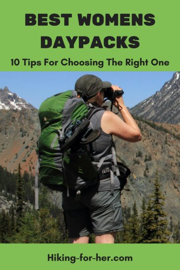 The best womens daypacks for hiking fit  like a glove and carry essential hiking gear year after year. Use these 10 tips to choose the best day pack for you.#dayhikes #backpacks #hikinggear