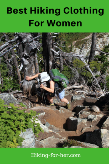 Wondering how to choose the best hiking clothing for your hiking style? Use these tips for finding the best outdoor clothing for women hikers. #hiking #backpacking #hikinglayering