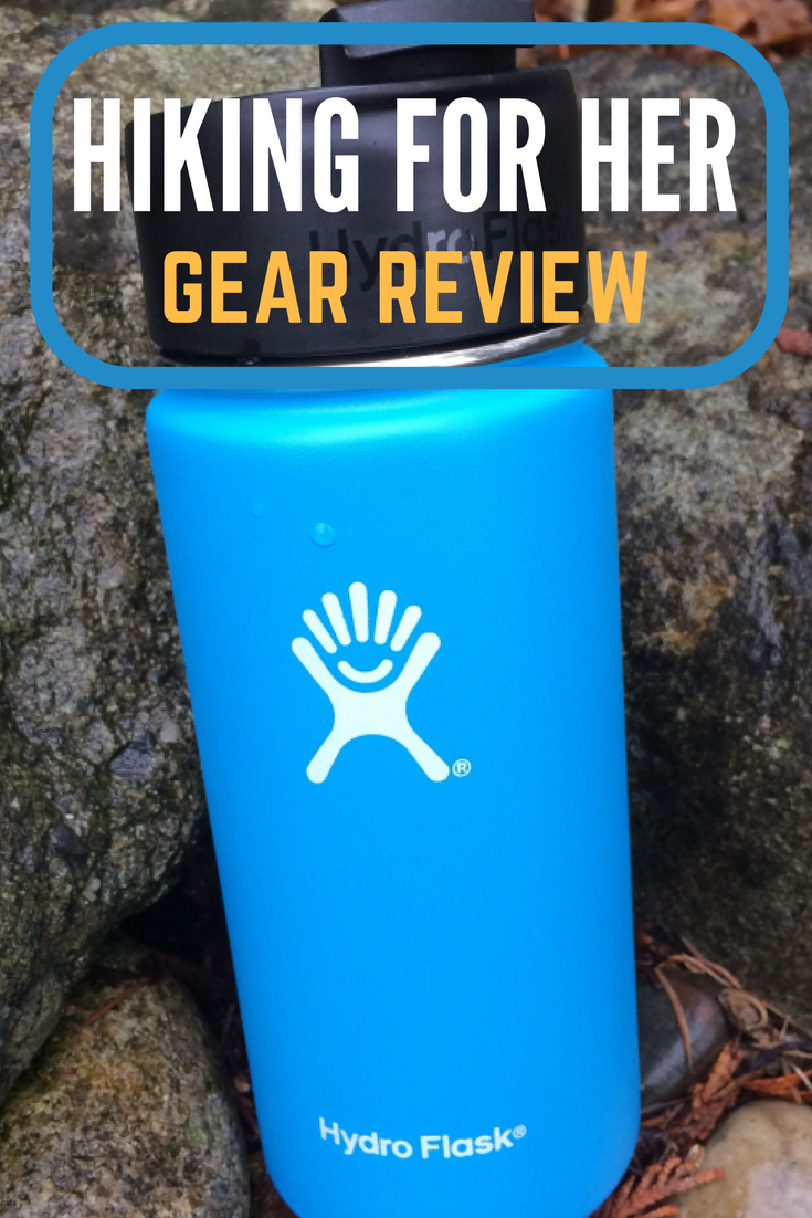 Hiking For Her reviews Hydroflask's wide mouth insulated solution to carrying your favorite delicious hot or cold beverages on the trail.