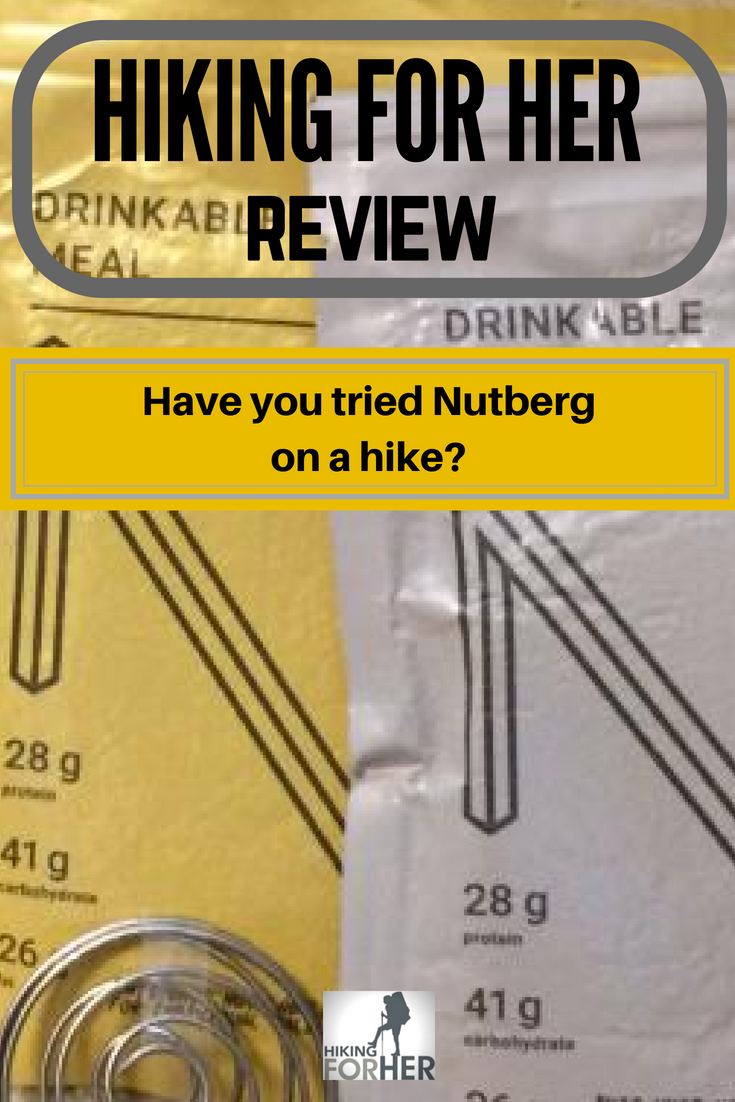 Nutberg drinkable meals are a great addition to your hiking menu and lightweight backpacking plans. Read why you should give it a try in this review. #hiking #backpacking #hikingfood