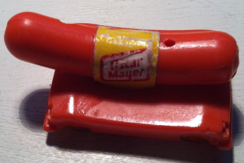 vintage Oscar Mayer wiener whistle