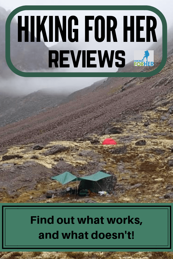 Hiking gear, clothing and food reviews need to be specific and detailed. Hiking For Her gives you everything you need to know before you buy your outdoor gear. #hike #backpacking #gearreviews #camping