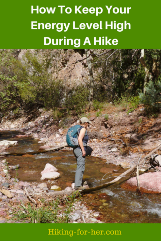 How to keep your energy level high during a hike is something every hiker wonders about. It's all about fuel for your hard working body - the best hiking food, and lots of it!