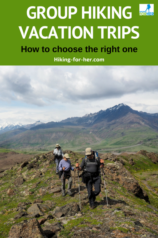 Group hiking vacation trips take the burden of planning and logistics off your shoulders. Is this type of hiking right for you? #hiking #backpacking #hikingtrip #backcountryhiking #hikes