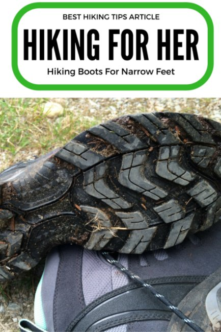 Hiking boots for narrow feet are really hard to find. You have four options for finding the best narrow hiking boots. F#narrowhikingboots #narrowfeet #womenhikers #hikingboots #hiking #backpacking