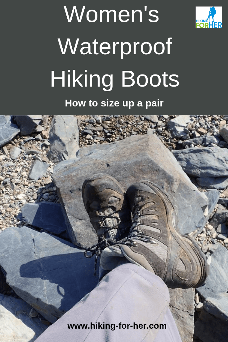 The best waterproof boots for women hikers keep your feet dry and comfortable. But how to find the best pair? #waterproofboots #backpackingboots #backpacking #hiking #hikingboots #womenshikingboots