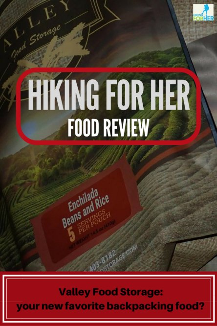 Freeze dried backpacking food for your upcoming trip can be as easy to find as reading this Valley Food Storage review by Hiking For Her. #hiking #backpacking #trailfood