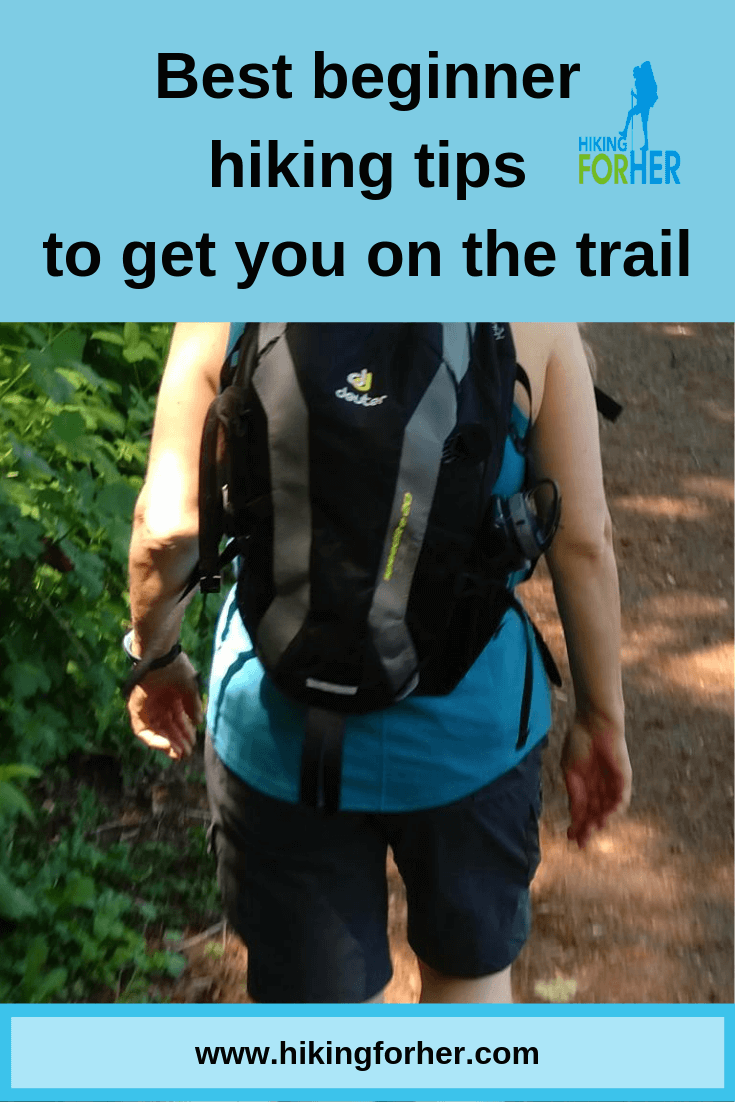 If you want to start hiking but aren't sure how to get on the trail, start here. #starthiking #hike #hiking #howtohike #hikingtips #beginnerhikes #womenhikers  #beginnerhikers