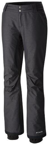 Women's black rain pants for hiking