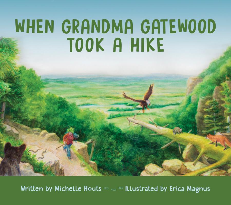 When Grandma Gatewood Took A Hike book cover