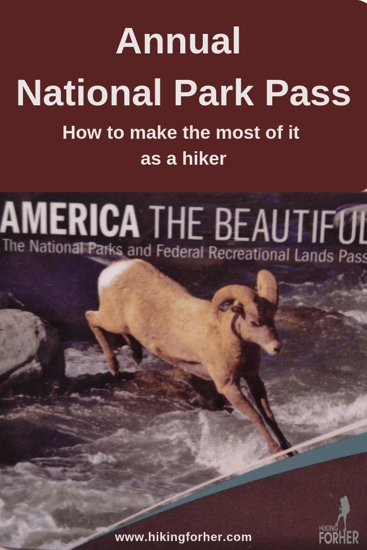 Planning to hike in several national parks? Get your America The Beautiful annual national park pass and save. #americathebeautifulpass #nationalparks #hikenationalparks #hiking #hikers #backpacking