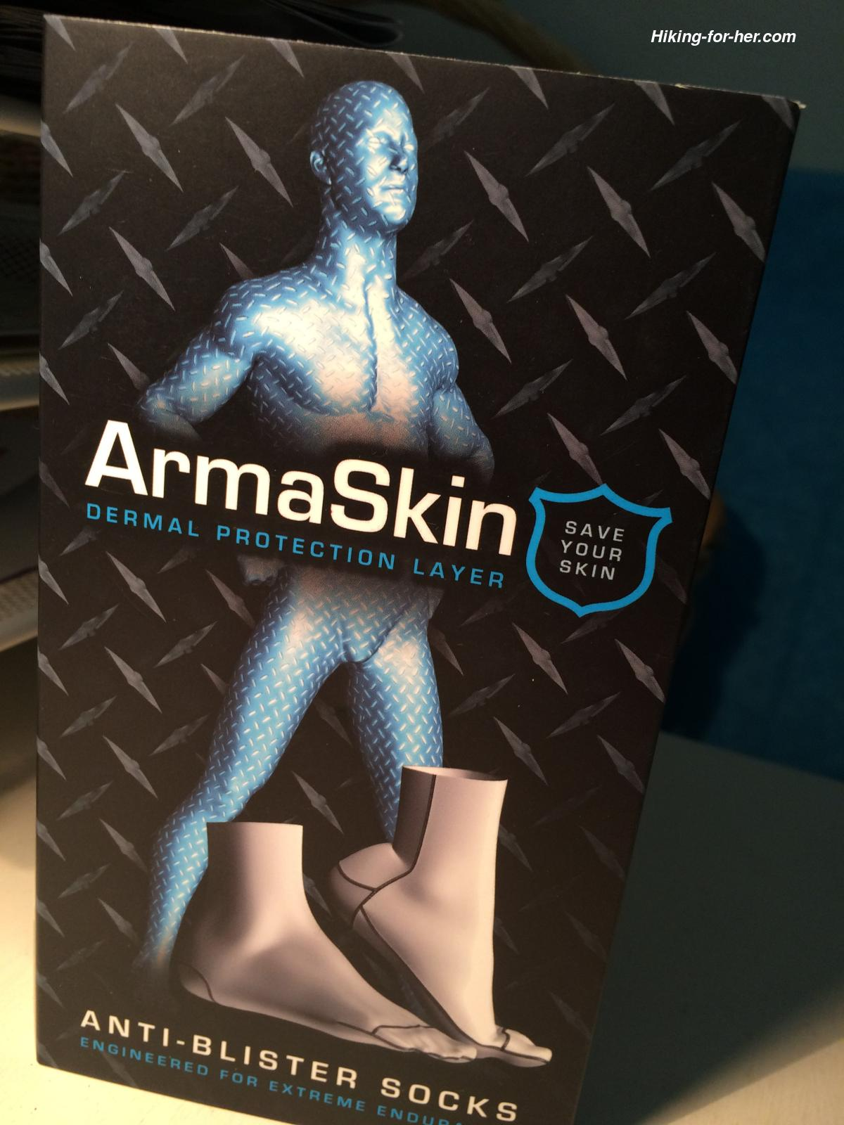Armaskin Anti-blister Sock packaging