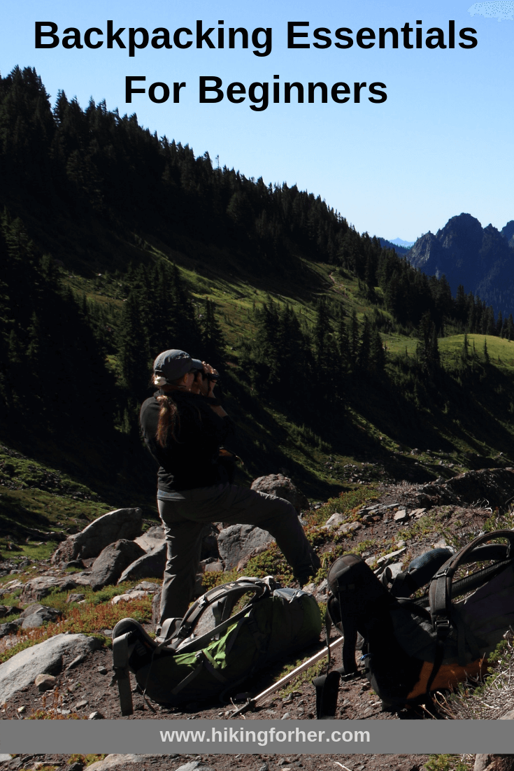 Beginning backpacker? Here are the essentials you need to stay safe and comfortable on the trail. #backpacking #backpackingessentials #hikingtips #backpackingtips #womenhikers #femalebackpackers