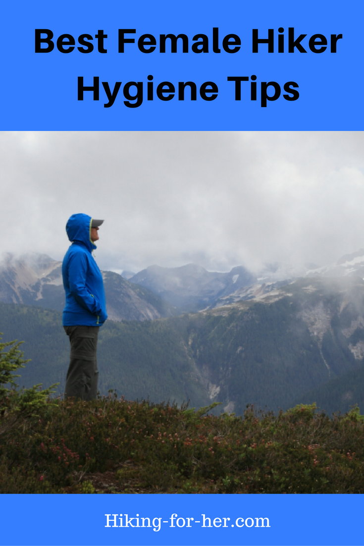 The best female hiker hygiene tips are practical, trail tested, and easy. Try these ways to stay clean and comfortable on your next hike, no matter what day of the month it is. #hiking #hikinghygiene