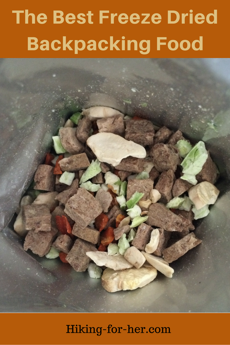 The best freeze dried backpacking food is tasty AND nutritious. Get some tips for your next hiking trip here. #freezedriedfood #backpackingfood #campingfood #survivalfood