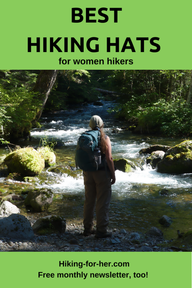 Do you have the perfect hiking hat yet? Hiking For Her has some tips for hitting the trail in the best hiking hats for women. Free monthly newsletter full of hiking tips, too!