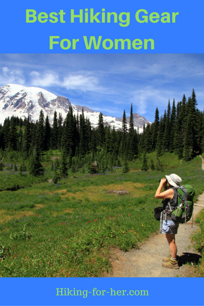 Women's hiking gear can make or break your enjoyment of the trail. Use these tips to find the best gear and clothing. #hiking #backpacking #hikingtips #hikinggear