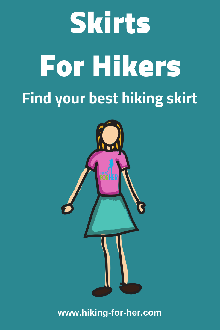 Find out how to find the best hiking skirt for your trail style at Hiking For Her. #hiking #hikingskirt #trailskirt #hikinginskirts #backpacking #hikingclothing