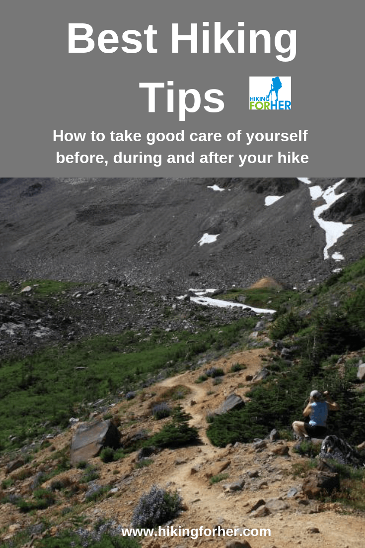 Best hiking tips for before, during and after your hike #hiking #hikingtips #backpacking #besthikingtips #hikingforher #womenwhohike #dayhikes