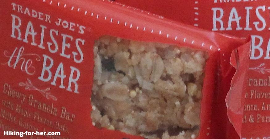 maple granola hiking snack