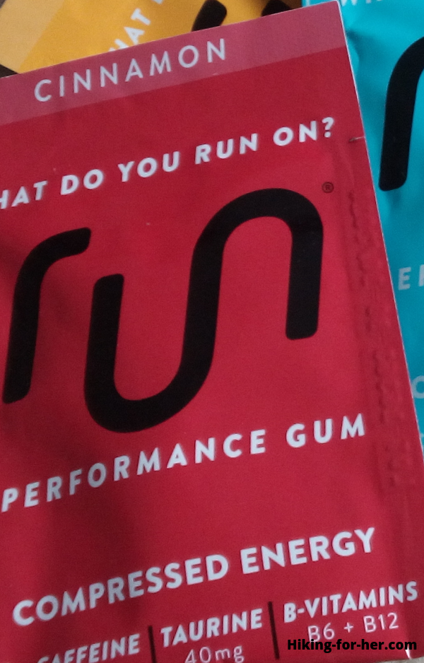 Closeup of gum package