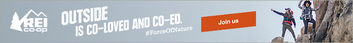 REI Force Of Nature banner
