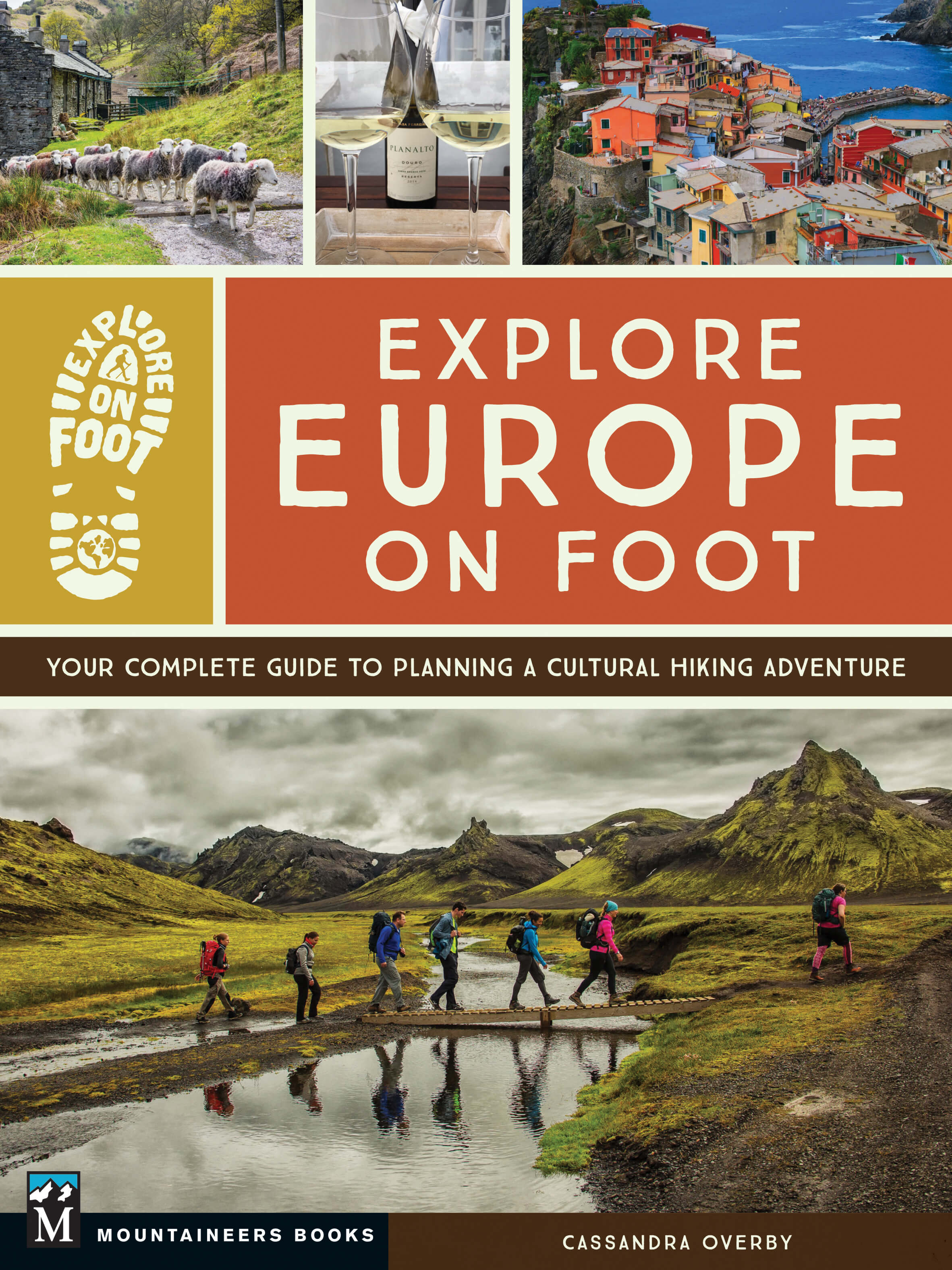 Explore Europe On Foot book cover