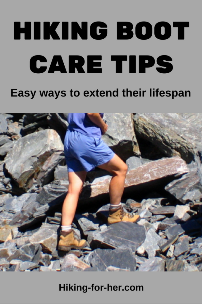 Hiking boots are expensive, so take good care of yours with these easy ways to extend their lifespan. From Hiking For Her, the best hiking advice around.