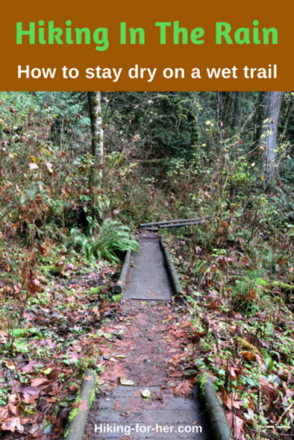 Hiking in the rain can be no fun if you're wet and miserable. These rain proofing tips will keep you dry when the trail is wet. #rainyhikes #hike #backpacking #hikeinrain #hikingtips
