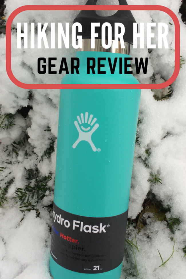 Need an insulated metal water bottle for your next hike? This Hydroflask review from Hiking For Her gives details on how to keep your beverages at the right temperature for up to six hours.