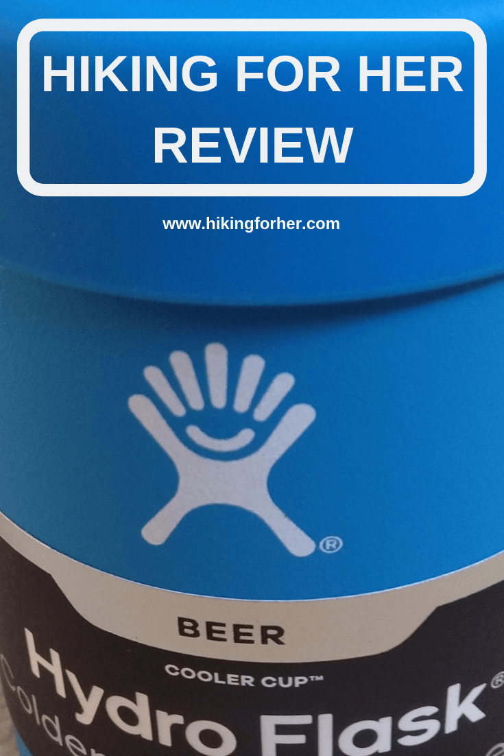 Hydroflask has a new Cooler Cup. Check out Hiking For Her's review for all the reasons to use one on your next camping trip. #carcamping #hikingforherreview #camping #hydroflaskcoolercup