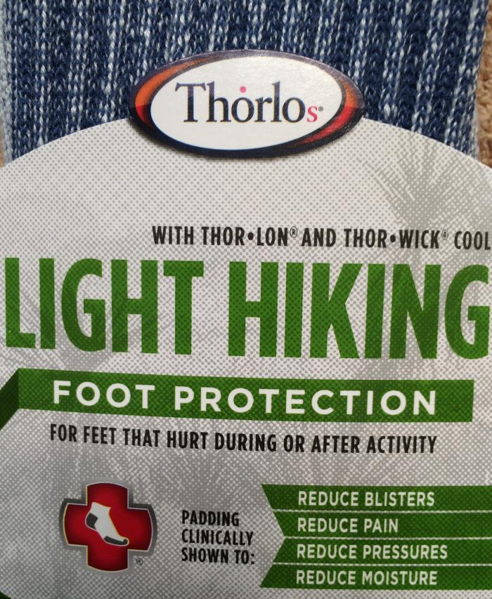 Thorlo light hiking socks package