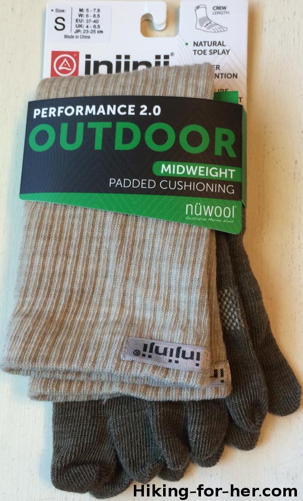Performance 2.0 Injinji outdoor socks