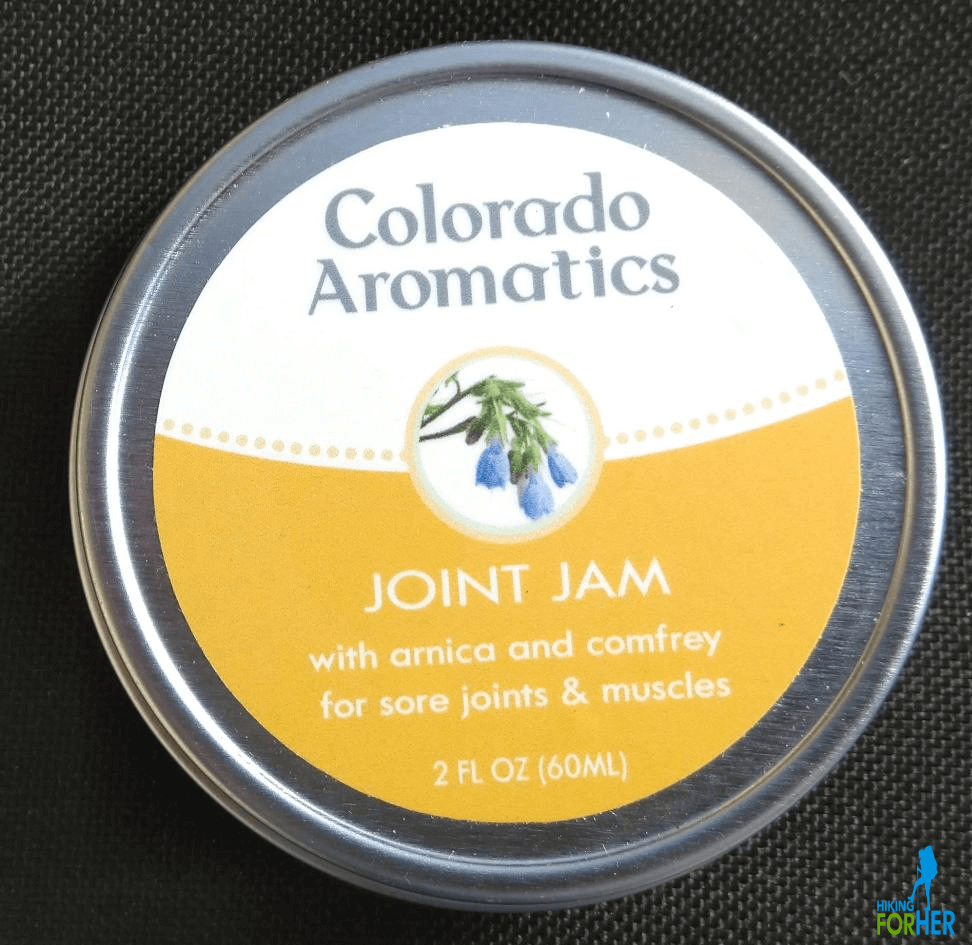 Lid of Joint Jam from Colorado Aromatics