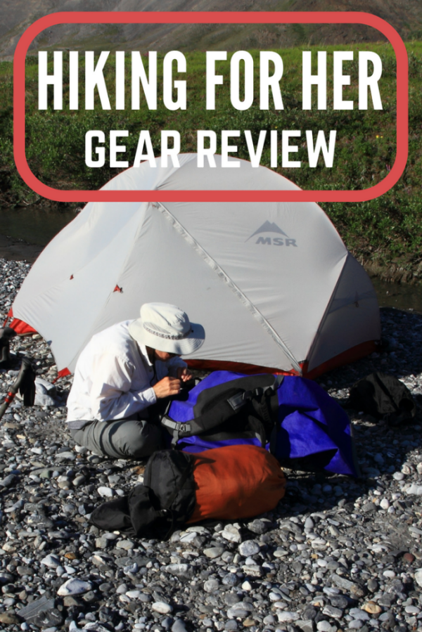 Looking for the best backpacking tent? Consider this MSR Hubba Hubba tent review from Hiking For Her, filled with details about how to pick the best hiking tent.