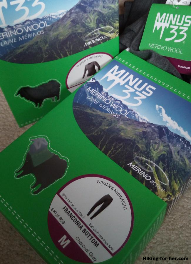 Minus33 base layer packaging