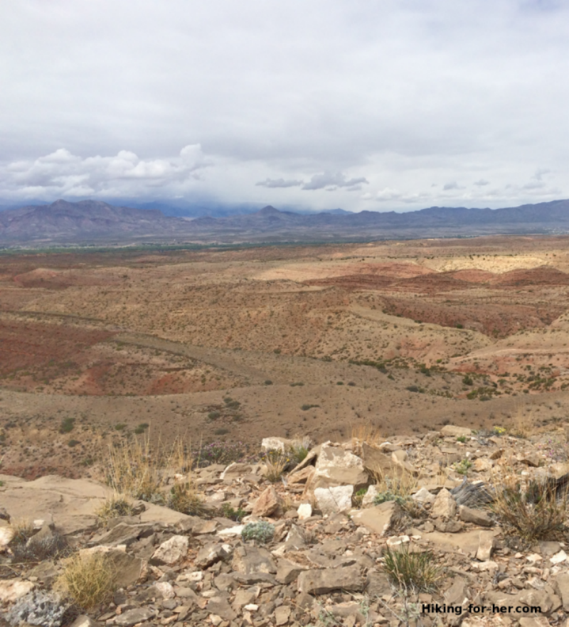 New Mexico landscape: clouds, rocks, lots of room to explore