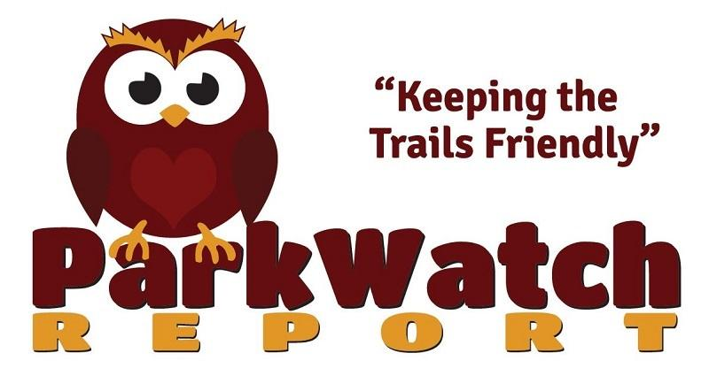 ParkWatchReport logo with friendly owl