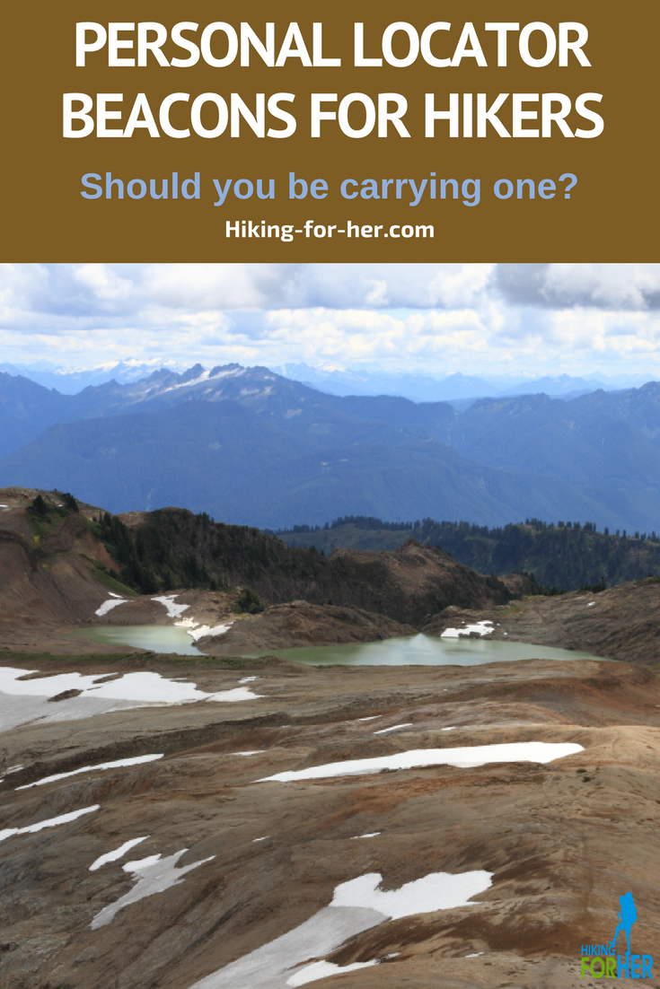 Personal locator beacons (PLBs) send an SOS message for hikers who have an emergency. Find out if you need to carry one with these Hiking For Her tips. #hiking #trailsafety #backpacking #emergency