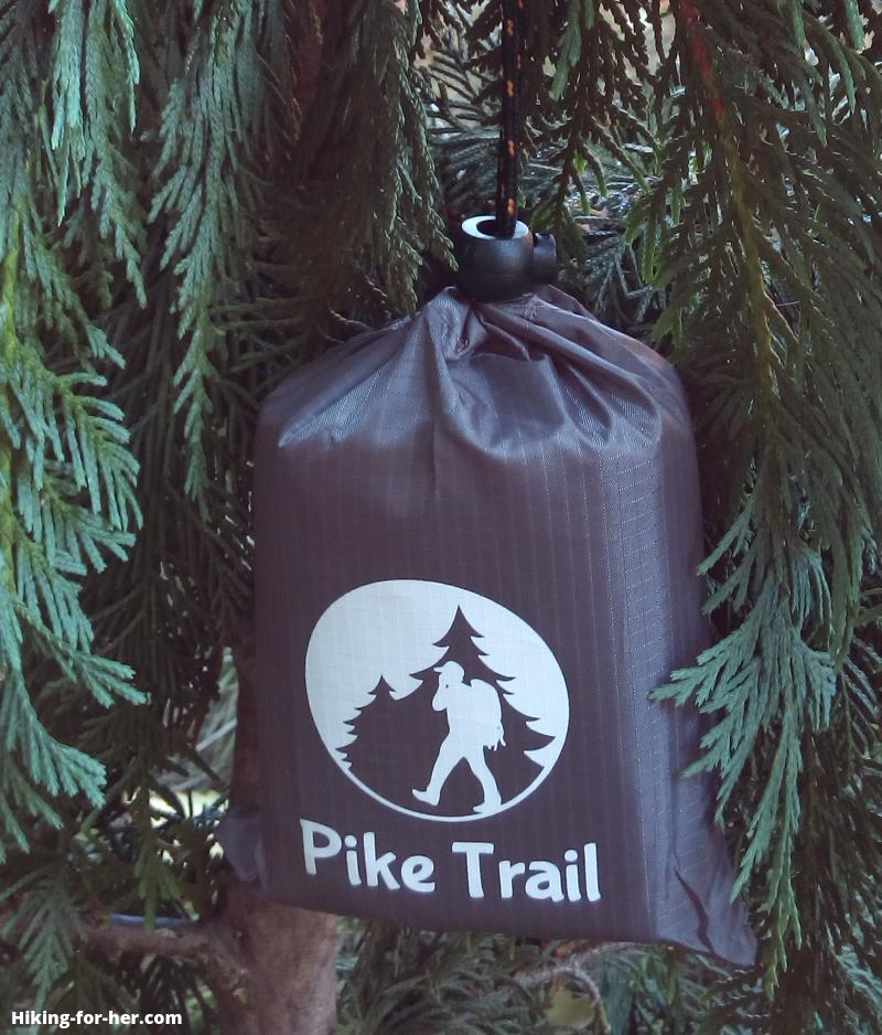 Pike Trail pocket blanket carrying case with carabiner