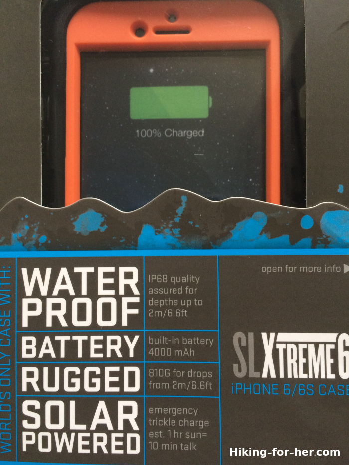 SLXTreme 6 iPhone case package