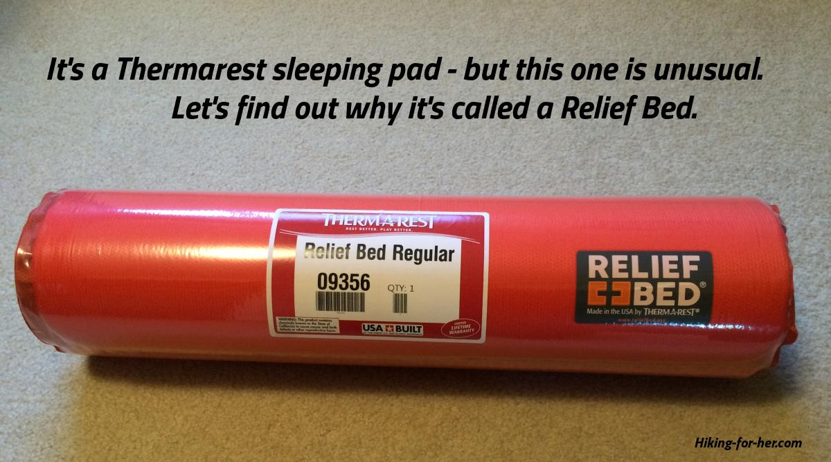 Thermarest Relief Bed: compact and portable