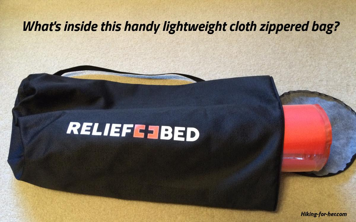 Thermarest Relief Bed with carrying case